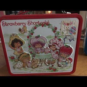 Other - Vintage strawberry shortcake lunch box